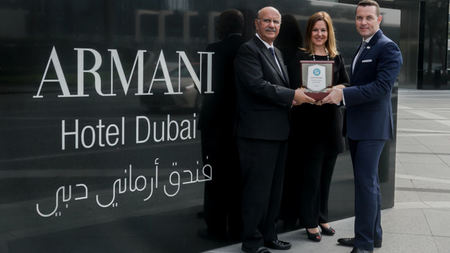 Armani Hotel Dubai Awarded 'Green Globe' Certification