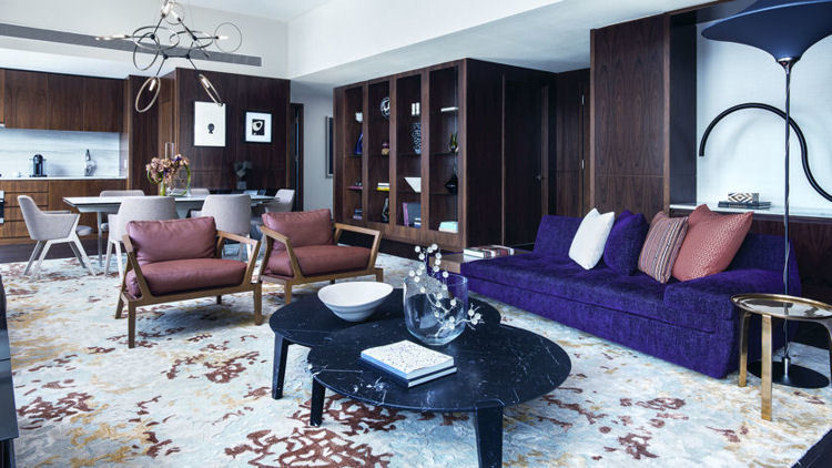 Roche Bobois Furnishes New Presidential Suite for The Langham, New York