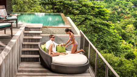 Couples Connect at Four Seasons Resort Seychelles