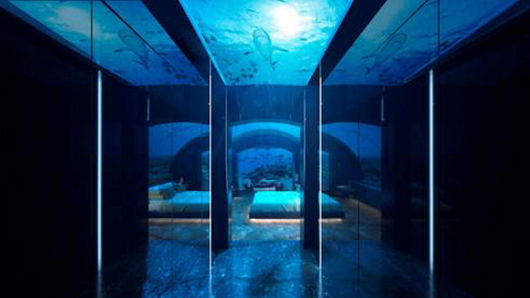 Conrad Maldives Rangali Island to Build First-of-Its-Kind Undersea Residence