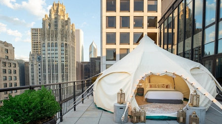 The Gwen Introduces Urban Glamping Experience in Chicago