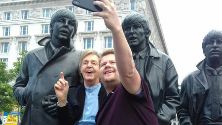 Paul McCartney's Amazing Carpool Karaoke Tour of Liverpool with James Corden