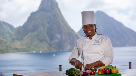 Cooking in Paradise Festival at Jade Mountain, St. Lucia
