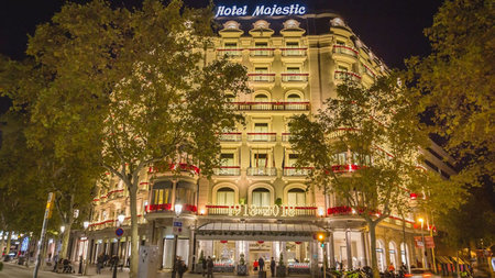Spend the Holidays at Majestic Hotel & Spa Barcelona