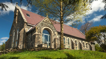 Stay in an Old Converted Church with Outdoor Hot Tub in Snowdonia, Wales