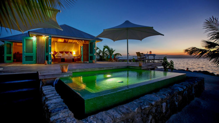 Cayo Espanto, Private Island Resort in Belize Offers Ideal Couples Getaway