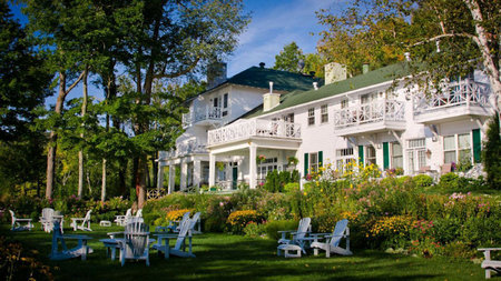 Escape to Canada's Picturesque Manoir Hovey this Summer