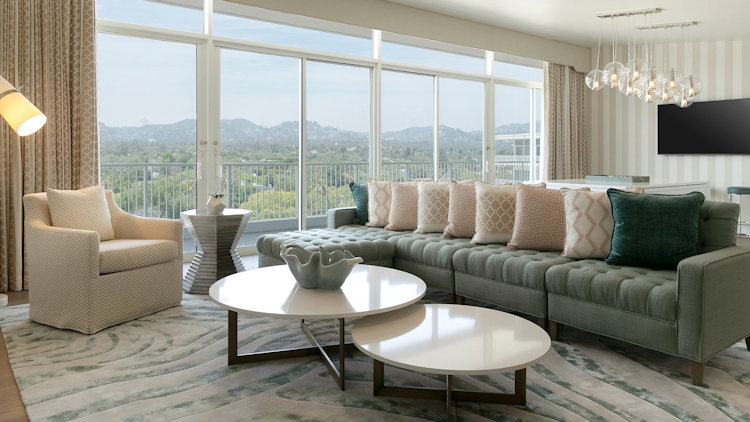 The Beverly Hilton's Presidential Suite is in a League of its Own