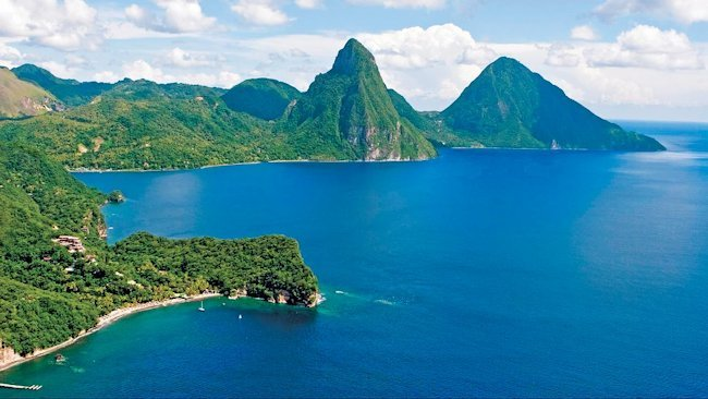 Summer Romance at Anse Chastanet & Jade Mountain, St. Lucia