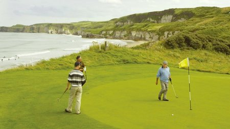 Heavenly Golf on Earth in Northern Ireland