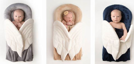 Angels On My Pillow - Baby Receiving Blanket