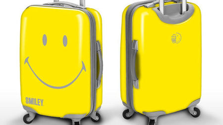 Smiley ® Luggage Spreads Good Times Everywhere It Travels
