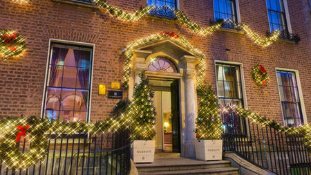 Christmas and New Year at Dublin's Merrion Hotel
