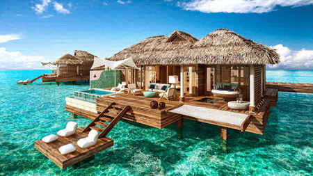 Sandals Offers the Caribbean's First Over-the-Water Suites