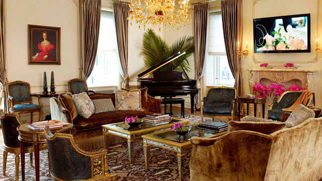 Revel like a Royal in One-of-a-Kind Suites Fit for A King or Queen at Fairmont Hotels