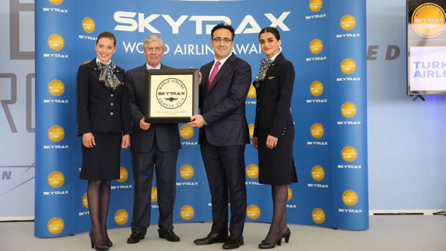 Turkish Airlines wins Best Airline in Europe for the 6th year running