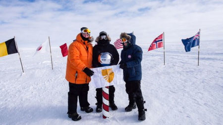 Seabourn Takes Guests to The South Pole