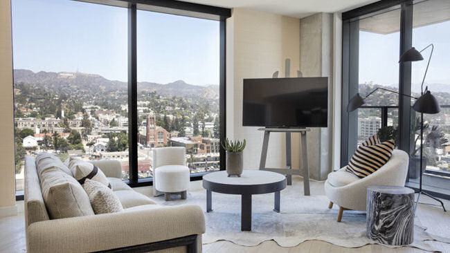 Hollywood Proper Residences, A New Luxury High-rise Now Open in L.A.