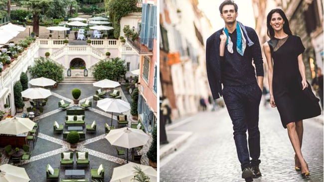 Hotel de Russie Introduces AVenue of Style