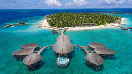 The Maldives' Largest Overwater Spa at The St. Regis Maldives