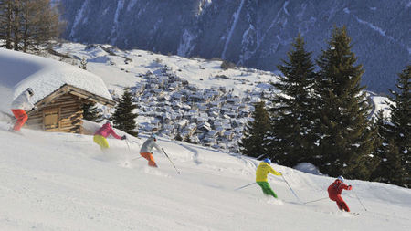 Luxury Skiing in Austria at Schlosshotel Fiss
