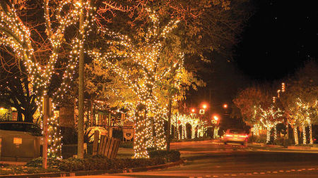 Holidays in Yountville - The Brightest Town in Napa Valley