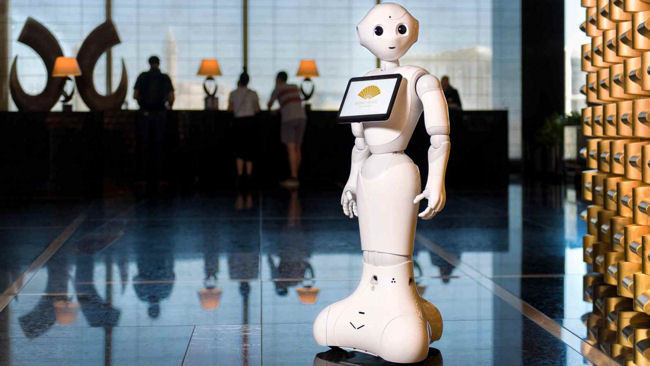 Luxury Hotels Launch Humanoid Robots