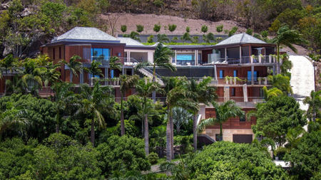 Enjoy Amazing Views from Villa Castle Rock St. Barts