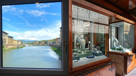 Temple St. Clair - American Jeweler Opens Boutique on Florence's Ponte Vecchio