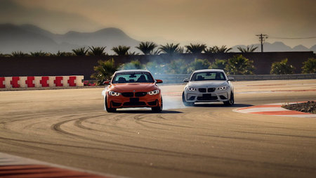 118 Degrees. 118 Miles Per Hour. The BMW Performance Driving School, Thermal, California