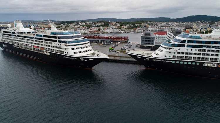 Azamara Sister Ships Meet Up in Norway