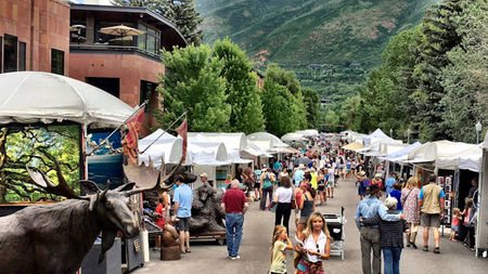 17th Annual Downtown Aspen Art Festival, July 20 – 21