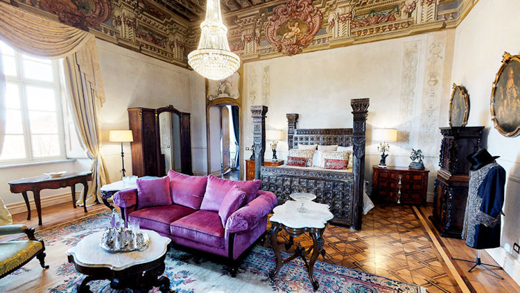 Castello di Casalborgone, Newly Renovated Italian Luxury Castle Opens in Piedmont