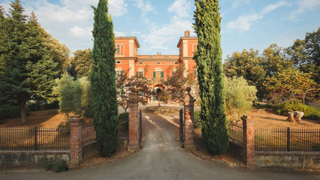 Autumn Weekends in Tuscany at Villa Lena