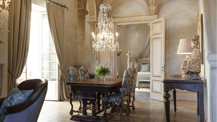 The One and Only Borgo Santo Pietro Grand Suite is Reborn