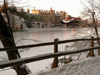 Time Travel: A Currier and Ives Winter at Mohonk Mountain House