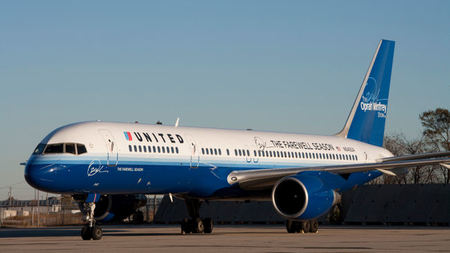 United Airlines Unveils The Oprah Winfrey Show Farewell Season Airplane