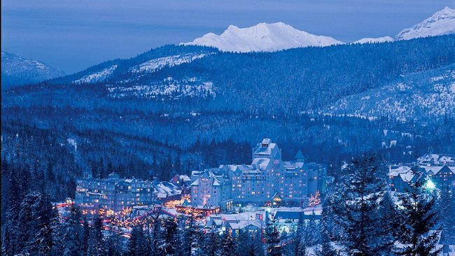 The Fairmont Chateau Whistler Offers Winter Ski Packages