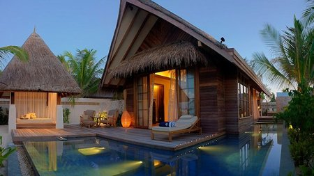 Hammock for Two at Jumeirah Maldives