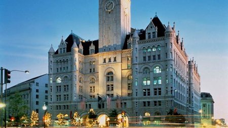 Trump Finalizes Agreement For Trump International Hotel, The Old Post Office Building, Washington, D.C.