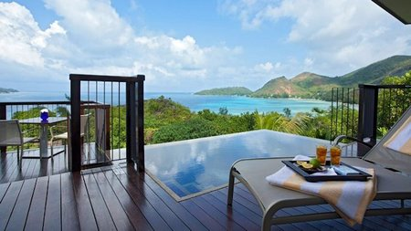 Festive Celebrations in Paradise at Raffles Praslin, Seychelles