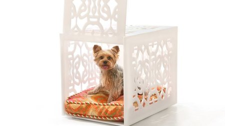 Fine Artist Creates Luxury Pet Crates & Gates