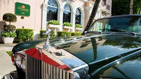 Explore Palm Beach in Style in a Vintage Rolls Royce