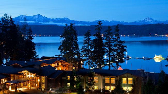 Escape to the Alderbrook Resort and Spa on Washington's Olympic Peninsula