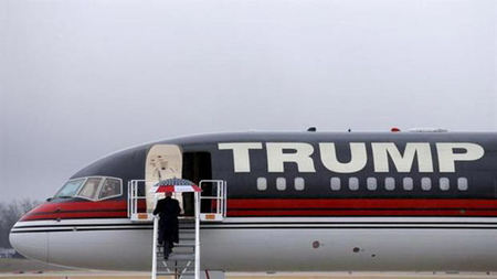 Inside Donald Trump's Private Boeing 757, 'Trump Force One'