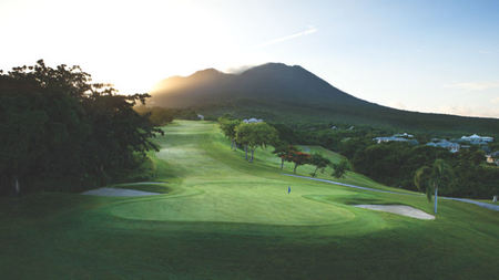 Four Seasons Resort Estates Nevis' Villas at Pinney's Beach Ideal for Golfers
