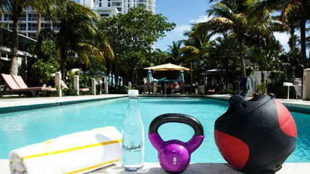 New Aqua Bootcamp at The Confidante Miami Beach