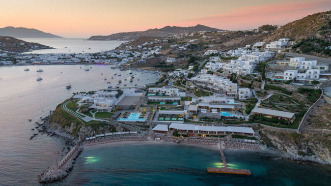 Santa Marina Resort & Villas, Mykonos Completes 3 Year Total Refurbishment