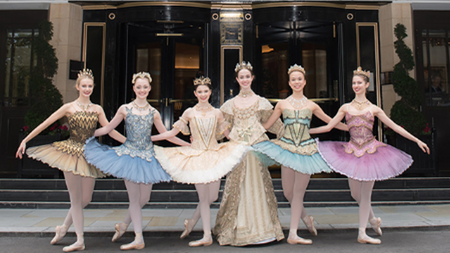 Sleeping Beauty Afternoon Tea with English National Ballet School