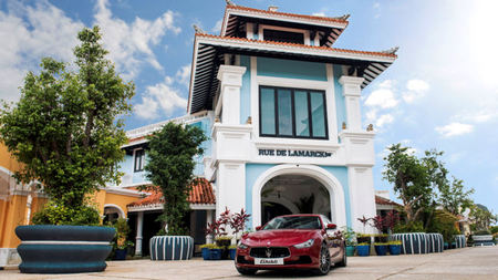 JW Marriott Phu Quoc Emerald Bay Partners With Maserati